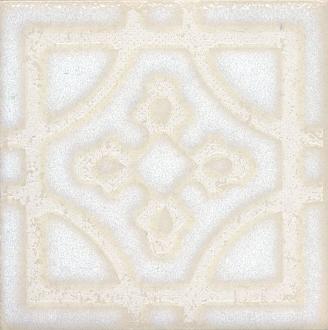 Вставка Амальфи орнамент белый STG/B406/1266
