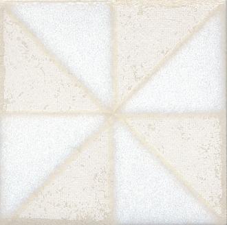 Вставка Амальфи орнамент белый STG/B407/1266