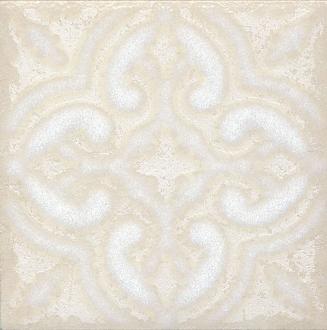 Вставка Амальфи орнамент белый STG/B408/1266