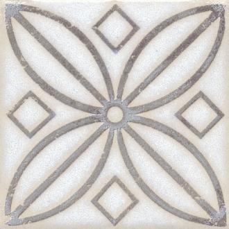 Вставка Амальфи орнамент коричневый STG/A402/1266