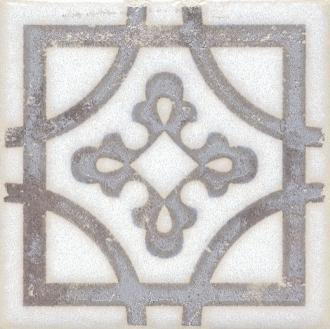 Вставка Амальфи орнамент коричневый STG/A406/1266