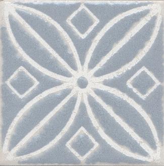 Вставка Амальфи орнамент серый STG/C402/1270