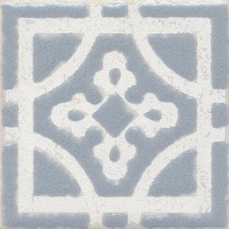 Вставка Амальфи орнамент серый STG/C406/1270