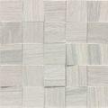 Wooden Tile White Mosaico