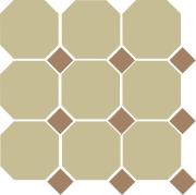 Yellow Octagon 03 Caramel Dots 04