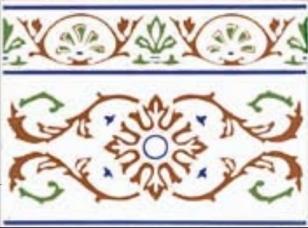 Zocalo Cenefa 43