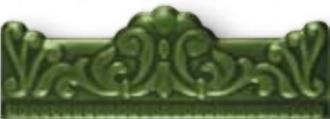Zocalo Moldura Barocca Verde