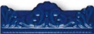 Zocalo Moldura Barroca Azul Vale