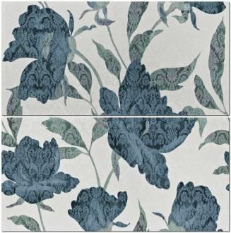 Florence Fascia Flora Blu