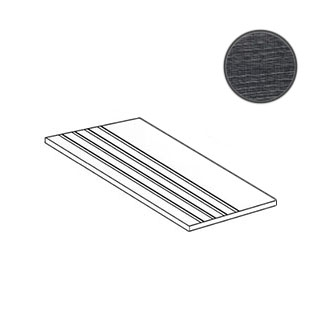 Fragments Wood Gradino Charcoal Nat. Ret. 01863